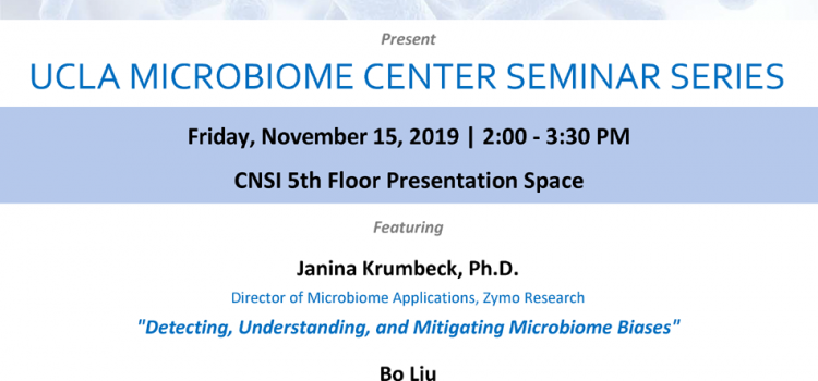 UCLA Microbiome Center Seminar Series